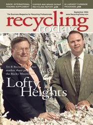 Recycle Today magazine cover
