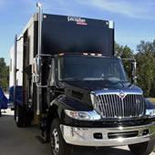 mobile shredding truck