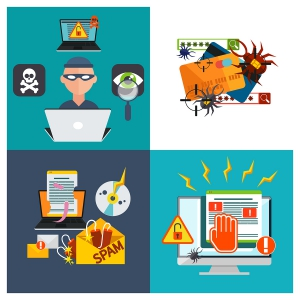 virus hacker malware ransomware electronic threats are you prepared protected