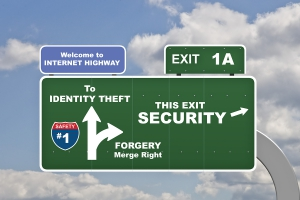 assessing risk common electronic threats identity theft