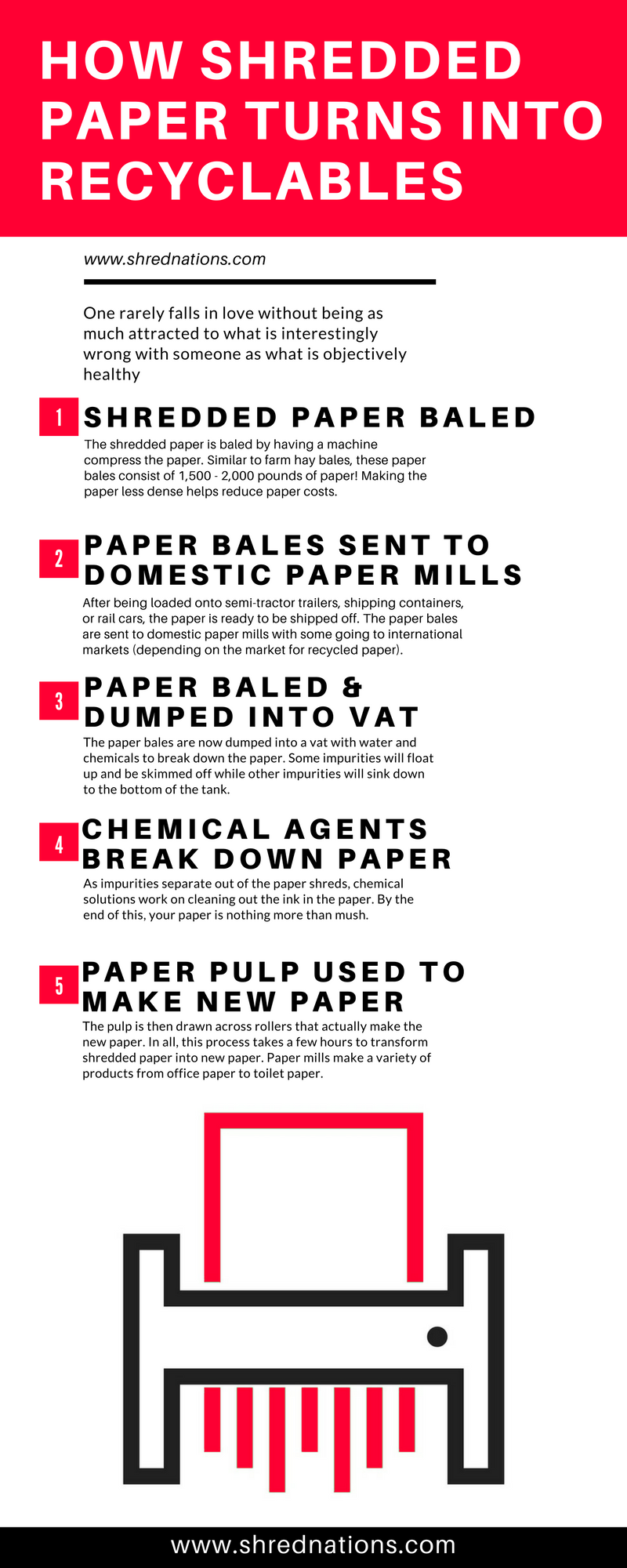 What Happens to Paper After it's Shredded?