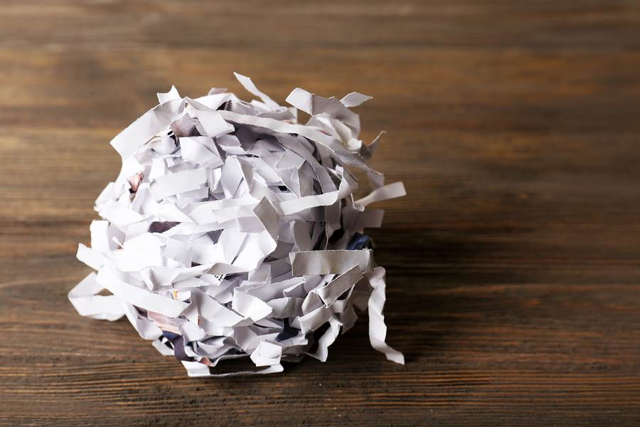 Shred your files to keep your private information secure