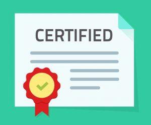 Document Shredding Certificate of Destruction