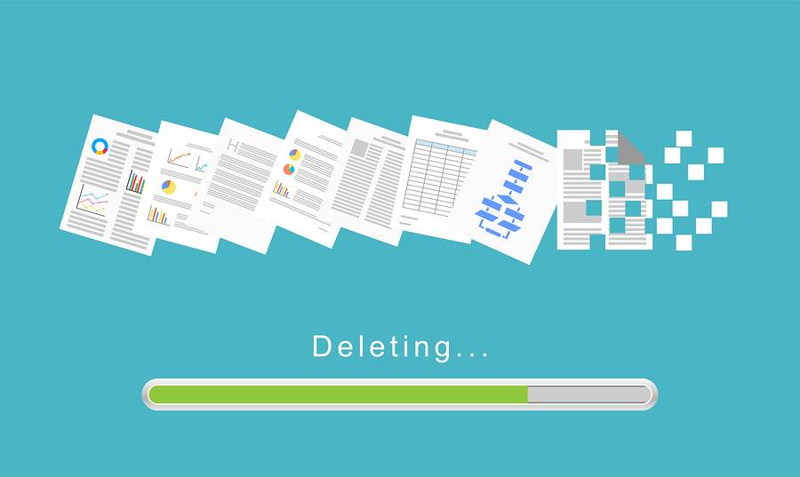 Deleting files is not safe enough