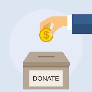 Will you make your shred event donation based?