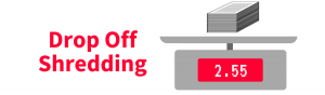 Drop Off Shredding Cartoon