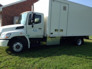 ERTH Systems Shredding Truck