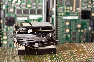 Hard drives for shredding