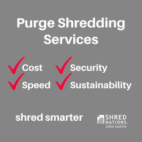 Purge Shredding Services