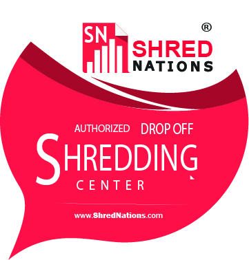 Drop off your files at at secure Shred Nations drop off location near you.