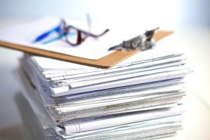 Stack of Files and Records that Can Lead to a Data Breach