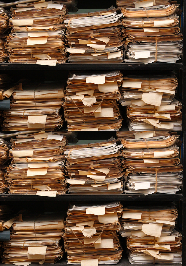 Do you have stacks of older tax documents? It might be time to shred them.