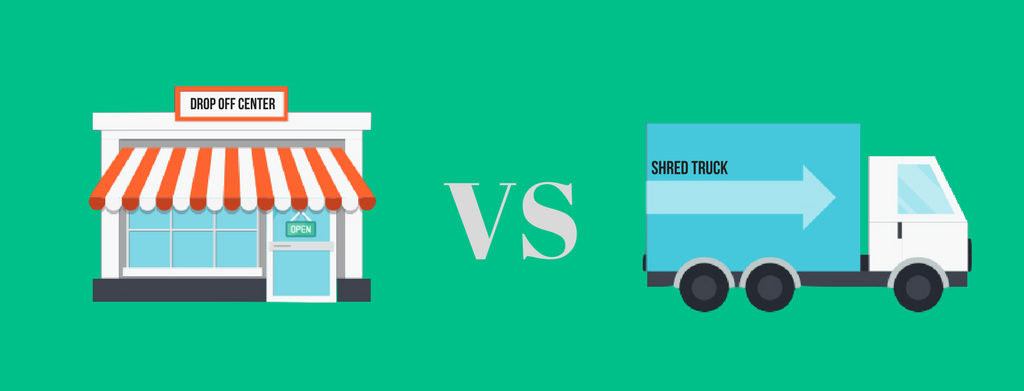 Mobile Shredding vs Drop Off Shredding Services
