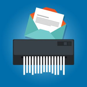 Document rental Shredder