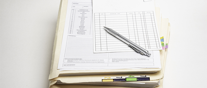 manage medical records destruction logs