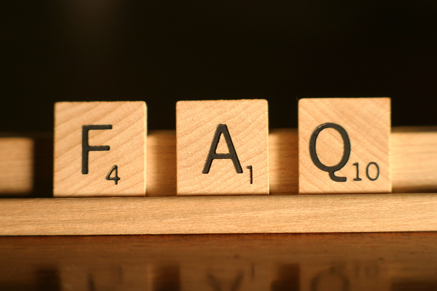 Frequently Asked Questions Blocks
