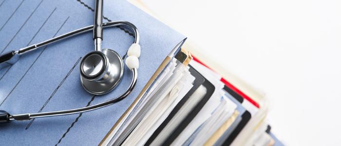 manage a medical records destruction log
