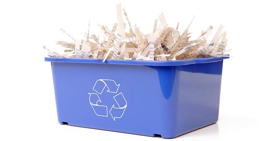 recycle shredded paper Trying to recycle shredded paper search for a recycling location in your area using the recycling search tool at the end of this article.