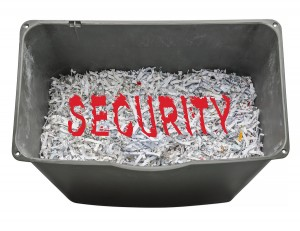 implement a shred-all policy for your company