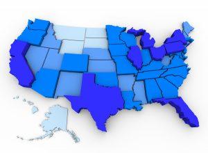 USA Drop Off Shredding Location Map