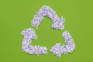 commitment sustainable shredding green environment paper