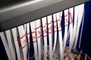 Shred Confidential Data