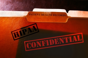 confidential hipaa regulated paper medical records protect from misuse identity theft