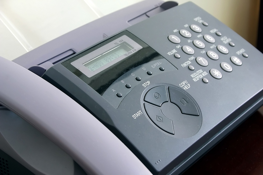 security breaches can happen with fax machines