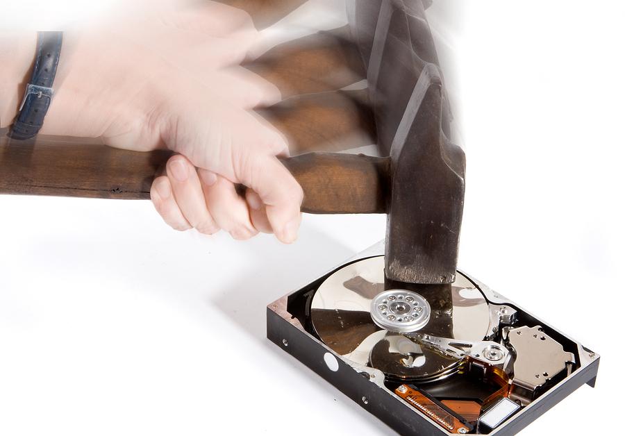 Hard Drive Destruction-Software vs Mechanical | Shred Nations