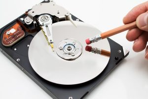 Shredding permanently destroys hard drive data