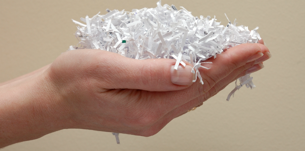 Is paper shredding sustainable shred nations for Bank of america document shredding