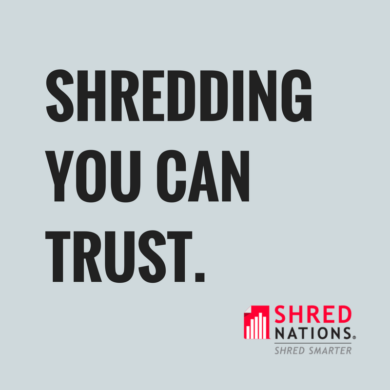 shredders you can trust