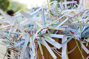 how sustainable paper shredding balance security environment