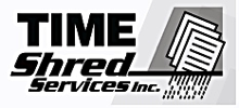 Time shred Services logo