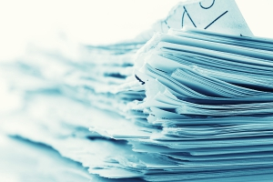 traditional paper documents need shredding