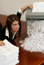 Shredding for Businesses- Retention Times and more