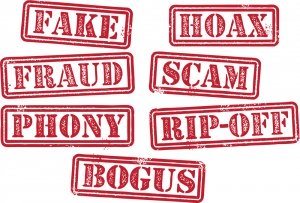 Fake, Fraud, Scam, Hoax