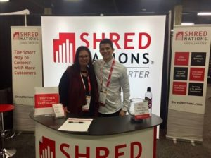 Shred Nations Customer Care Team at NAID 2018