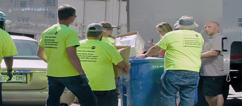 Local shred events