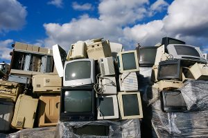 TV Destruction and Recycling