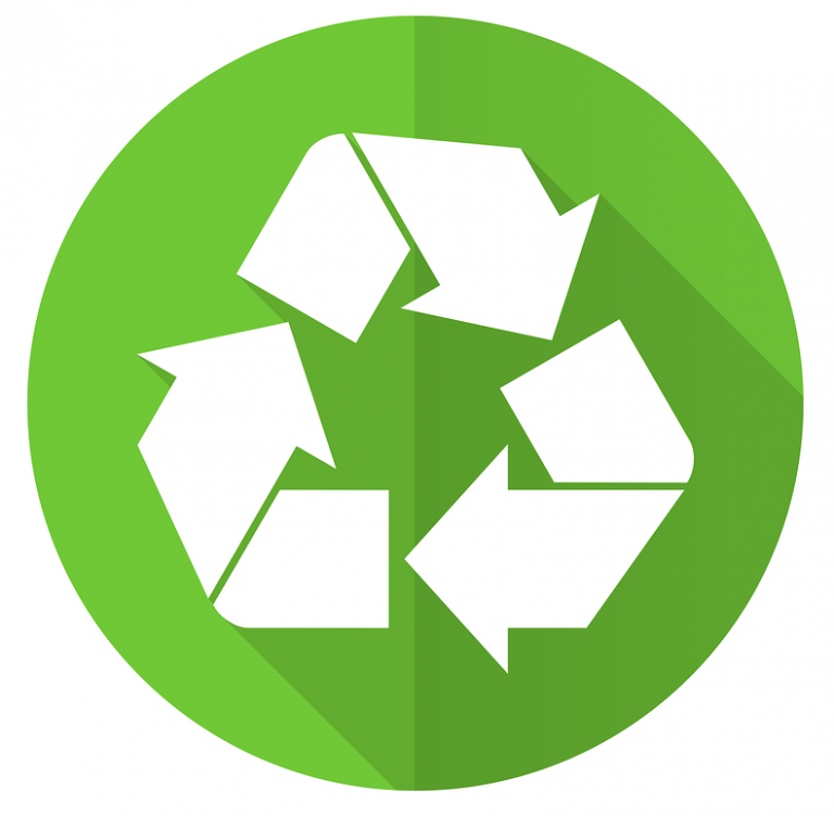 the natural process of recycling in biology